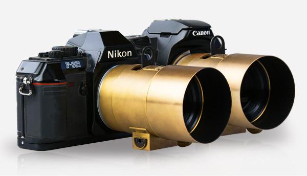 The  Lomography Petzval Portrait Lenses On Analog Film Cameras