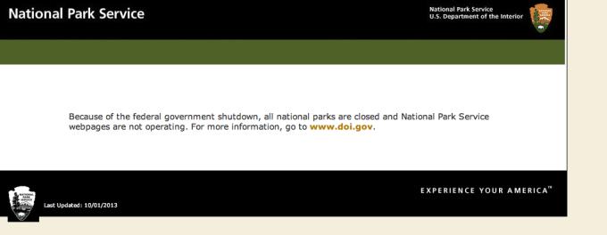 Yosemite is closed