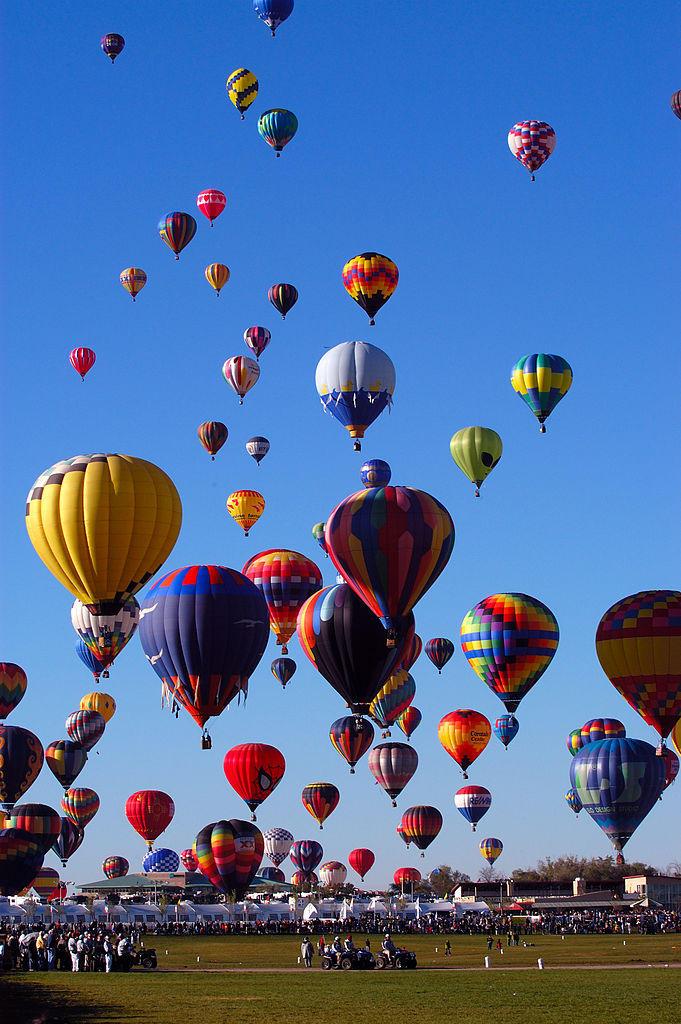 Albuquerque Balloon Fiesta 2006 Grand Ascension - Photo: Eric Ward