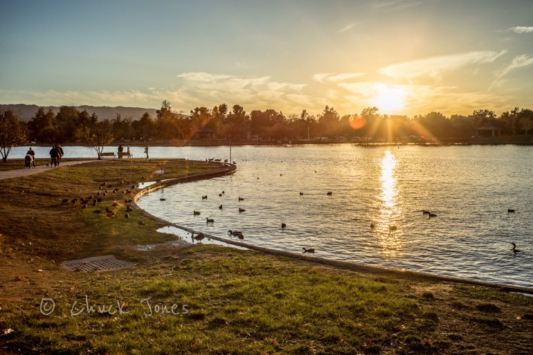 Sunset Over The Lake - Sony A7R, Leica 35mm Summicron @f/11,  1/320th sec ISO 100.