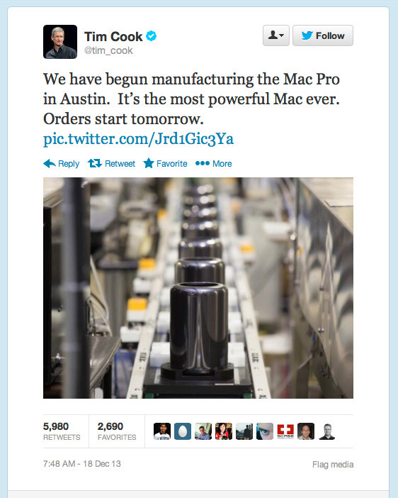 Tim Cook's Apple Pro Announcement
