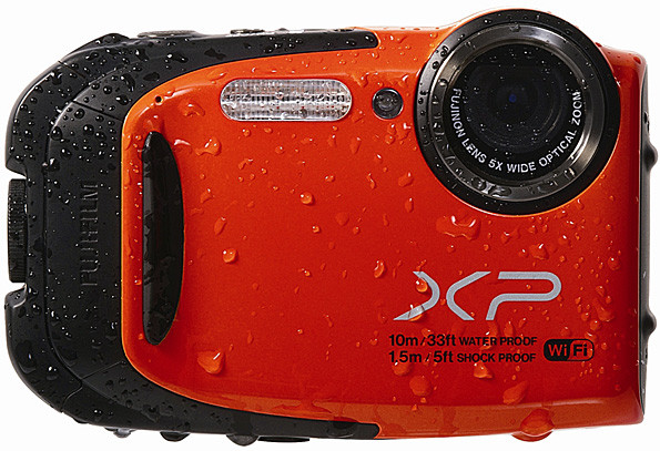 Fujifilm Finepix XP70 In Red.