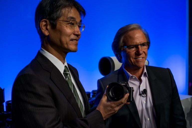 Shigeki Ishizuka, Senior Vice President, Corporate Executive, President of Device Solutions Business Group, Consumer, Professional & Devices Group and President of Digital Imaging Business Group, Sony Corporation Introduces the New Sony A7S.