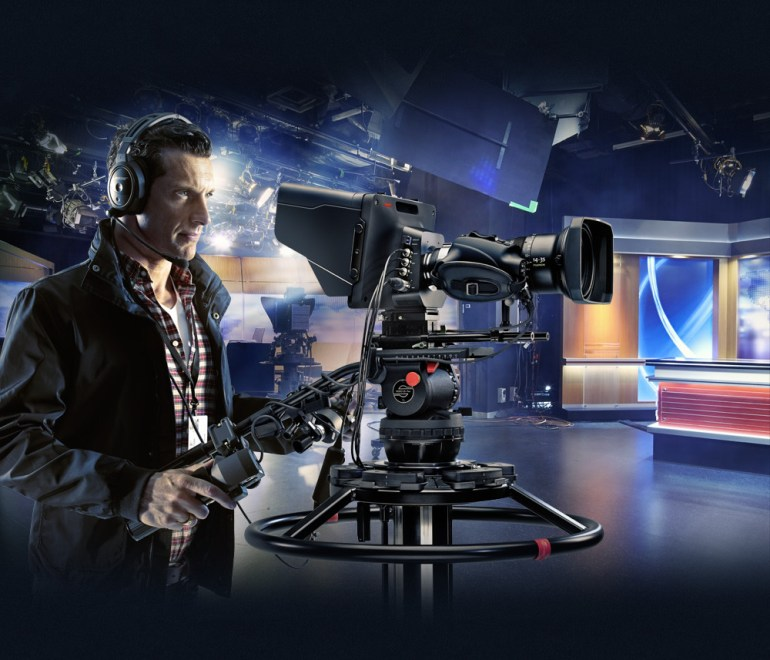 The BlackMagic Studio Camera Is Designed For Live Productions.