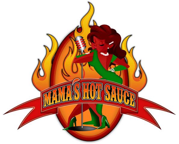 Mama's Hot Sauce Official Logo.