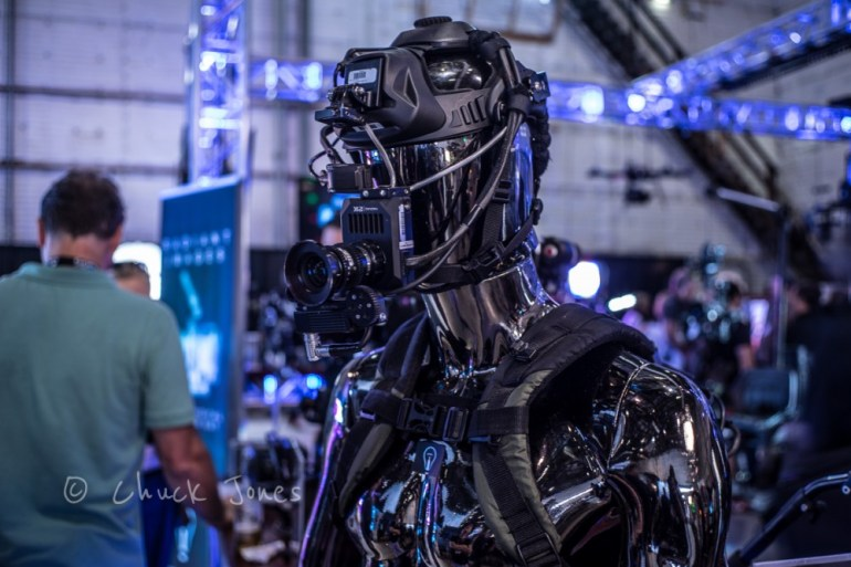 """Darth Vader? Nope.  Darth Videographer!  A Full Self Contained """"Google Glass"""" on Steroids."""