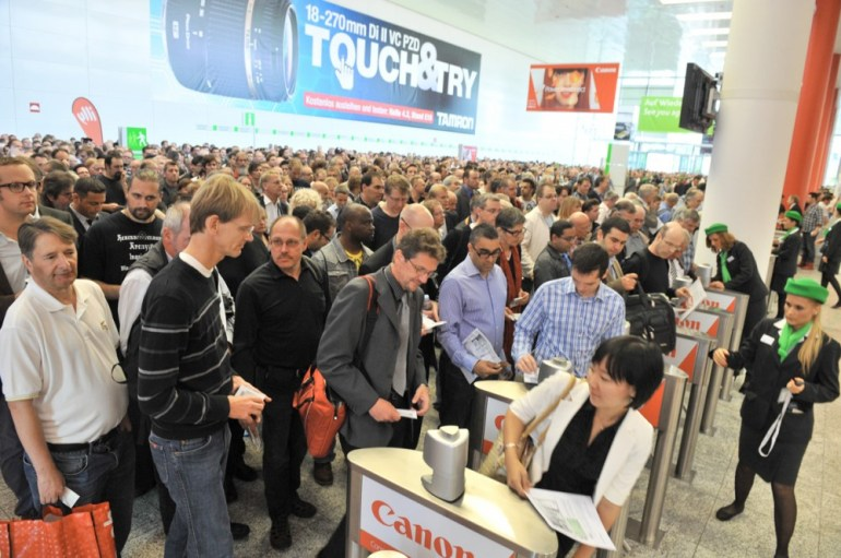 Opening Day at Photokina is always a mad house!