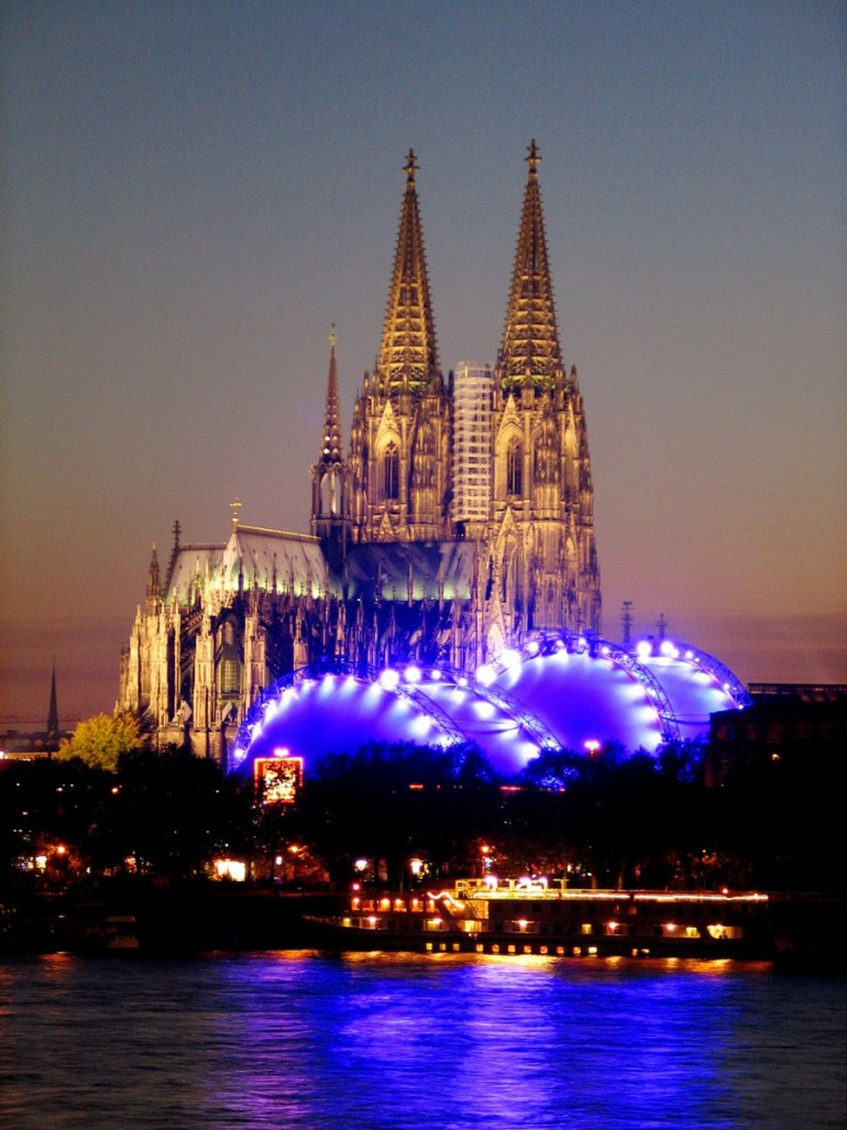 Nightlife at Photokina in Cologne is breathtaking.