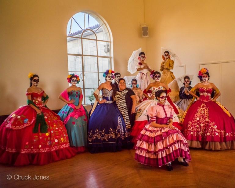 Quinceañera Waltz & Catrina Fashion Show Dresses by Designer Pink Horses.