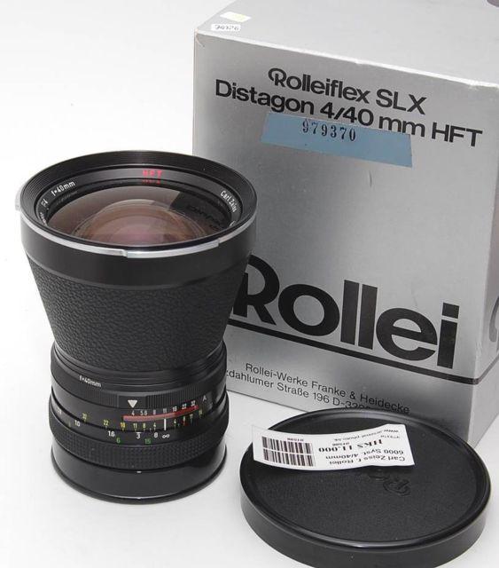 Rollei Carl Zeiss Distagon f4 40mm HFT