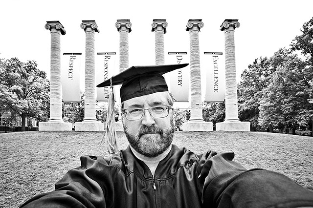 Brian Smith University of Missouri Commencement 2015.  The Humor Is Still There.