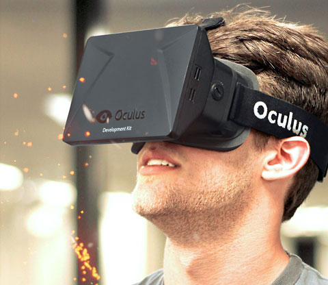 Latest Head Tracking Oculus Rift VR Headset