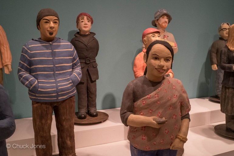 Clay Archivists by Artist Nuala Creed