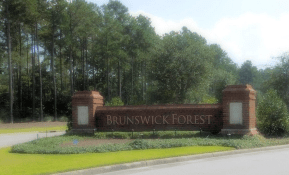 Brunswick Forest Entrance