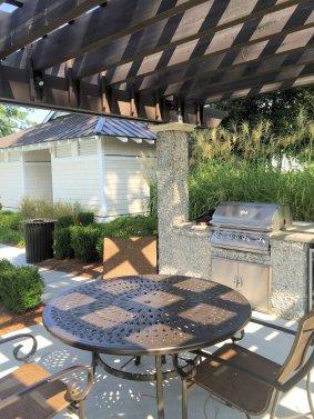 Autumn Hall outdoor grill