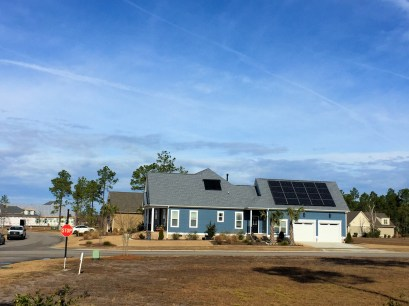 Compass Pointe - House with Solar Panels