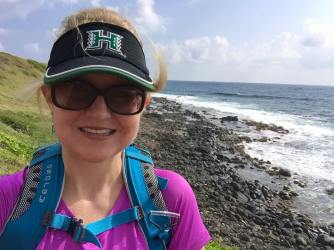 The Hawaii Warrior visor saved me!