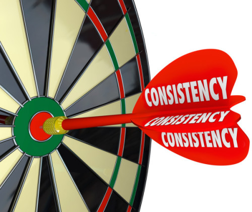 Winning candidates are always consistent and on target with their message.