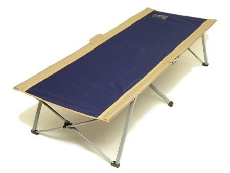 Blue easy cot
