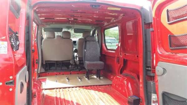 Vivaro Campervan Conversion - Clearing the Van