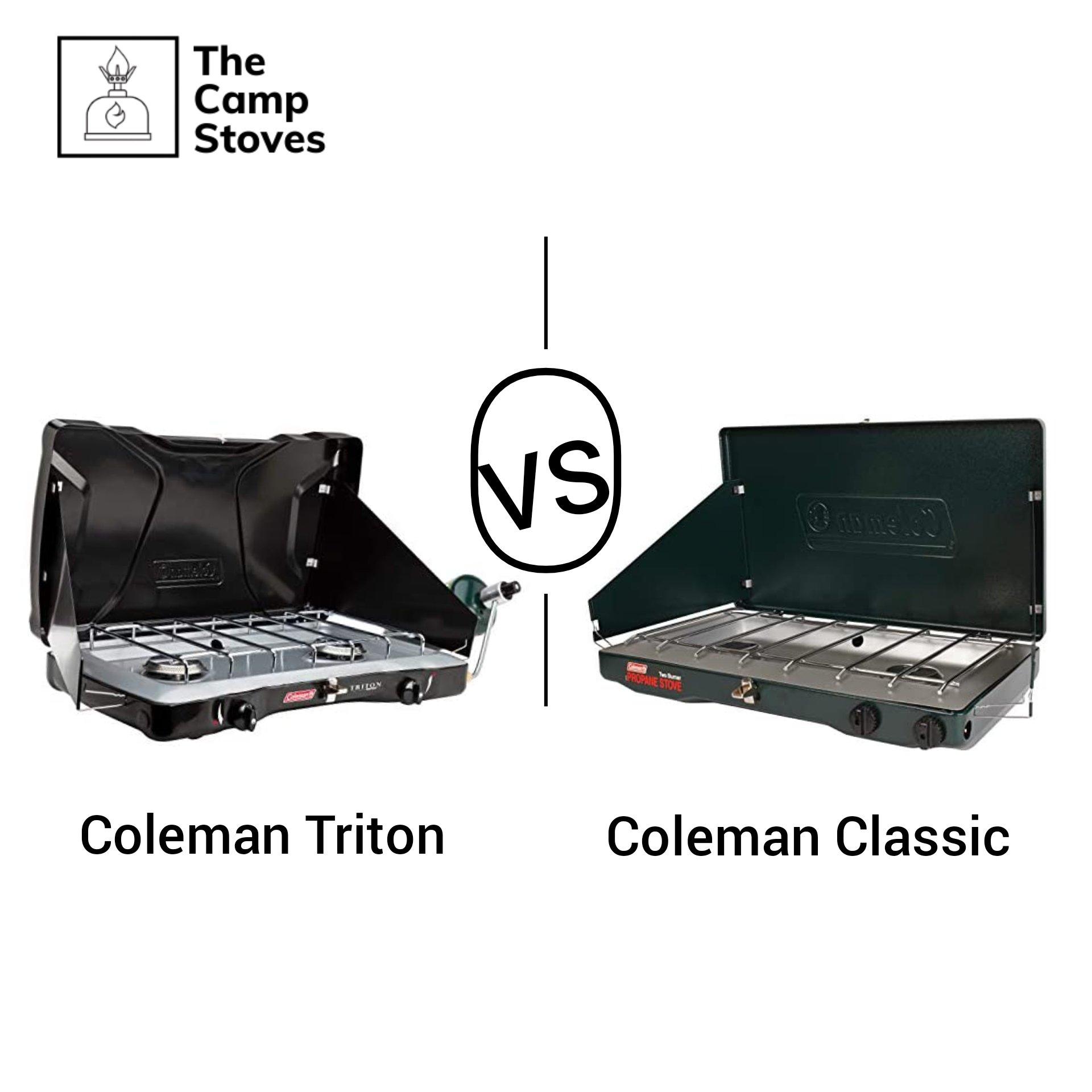 Coleman classic vs triton