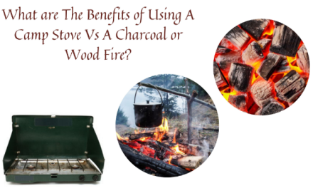 What are The Benefits of Using A Camp Stove Vs A Charcoal or Wood Fire?