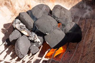 Barbecue charcoal, can you burn charcoal briquettes in a wood stove?