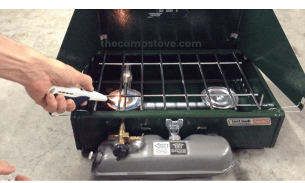 Coleman Propane Stove Not Burning Right, Why? How To Fix!