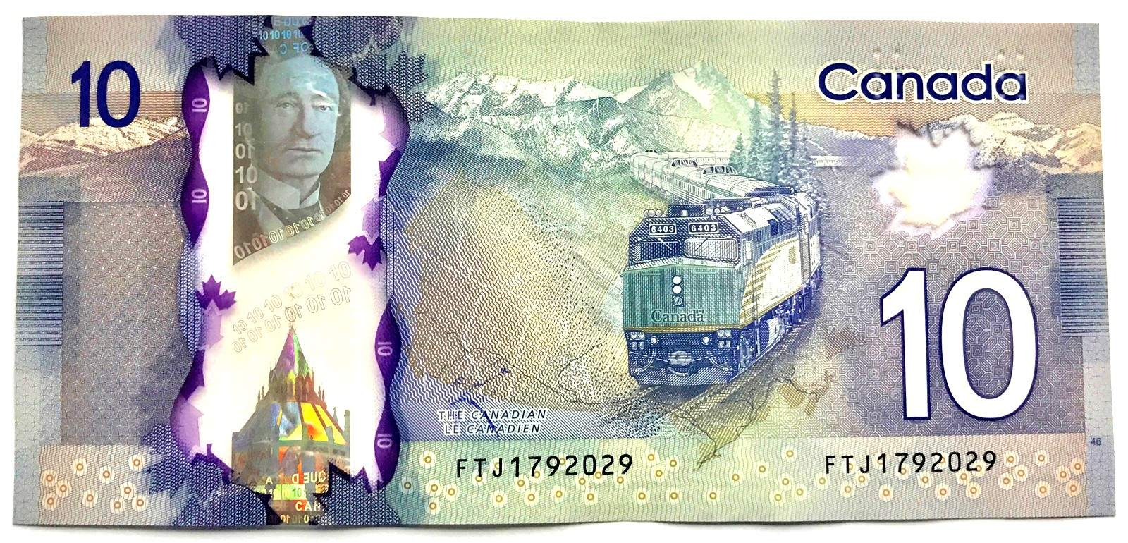 Whos On The 10 Dollar Bill Canada