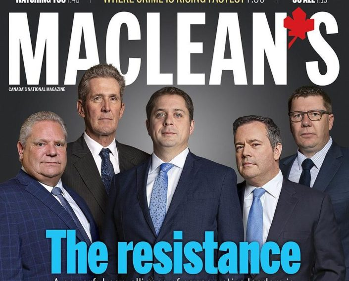 Maclean's 'Resistance' Cover Has Twitter In Stitches
