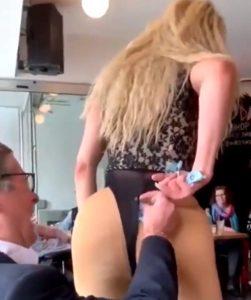 Toronto Mayor John Tory photographed offering transvestite money