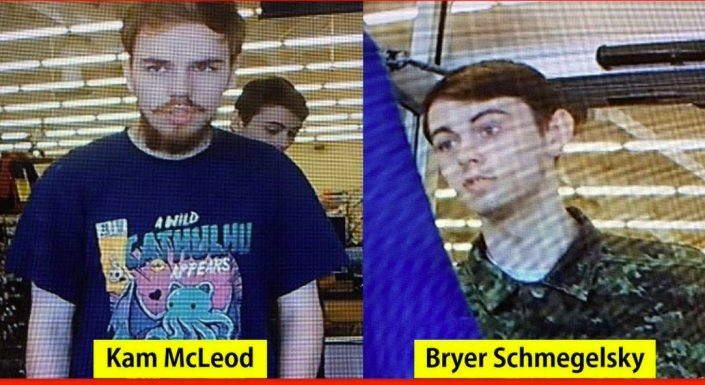 Teens considered missing now suspects in 3 B.C. murders