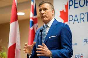 People's Party Leader Maxime Bernier calls for cuts to immigration levels.
