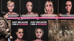 Violence Against Women Campaign Features Doctored Photos Of Hillary Clinton, AOC, Michelle Obama As Battered Victims