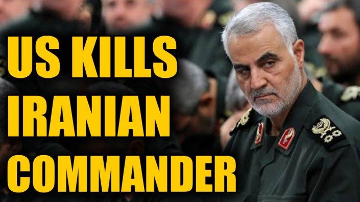 Iran promises 'harsh retaliation' for U.S. killing of top general Soleimani