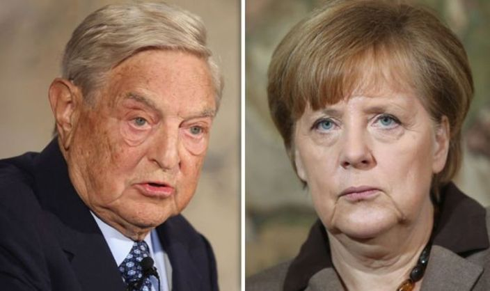 George Soros Livid After Merkel 'Caves' To Hungary and Poland