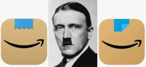 Amazon changes app logo that 'resembles Adolf Hitler'