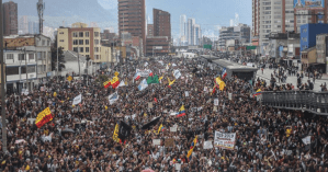 Violence rising in Colombia's protests