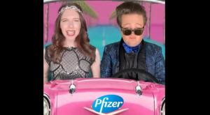 "WTF?: ""I'm a Pfizer girl in a Covid world"""