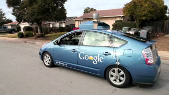Toyota Prius with Google's technology