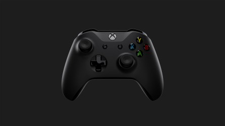 Xbox One X_Controller_Front Dark Gray