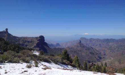 An unusually cold January in the Canary Islands, with a touch of snow and more sunshine than usual!