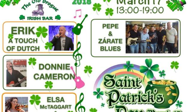 Saint Patrick's Day Celebrations at The Old Brogue