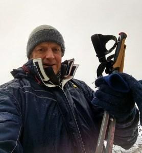 Nick Parker - the Cancer JourneyMan - Nordic walking