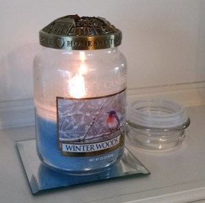 Yankee Candle Winter Woods Large Jar Candle