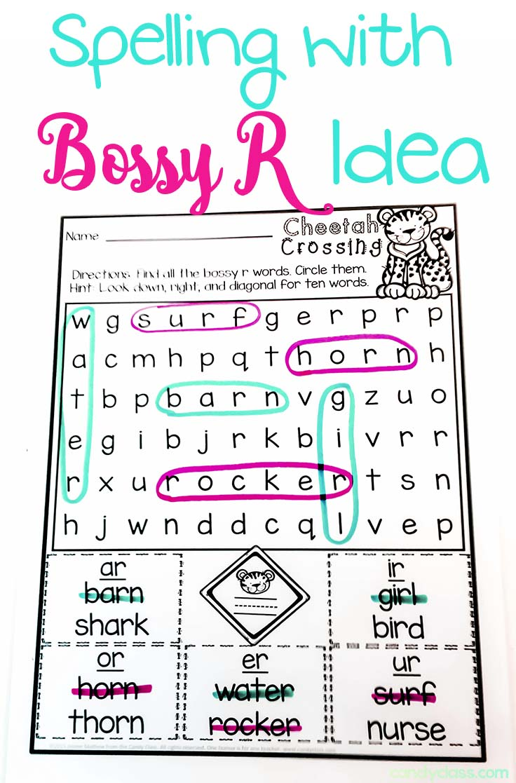 Build G Up With Bossy R Ctivities Freebie