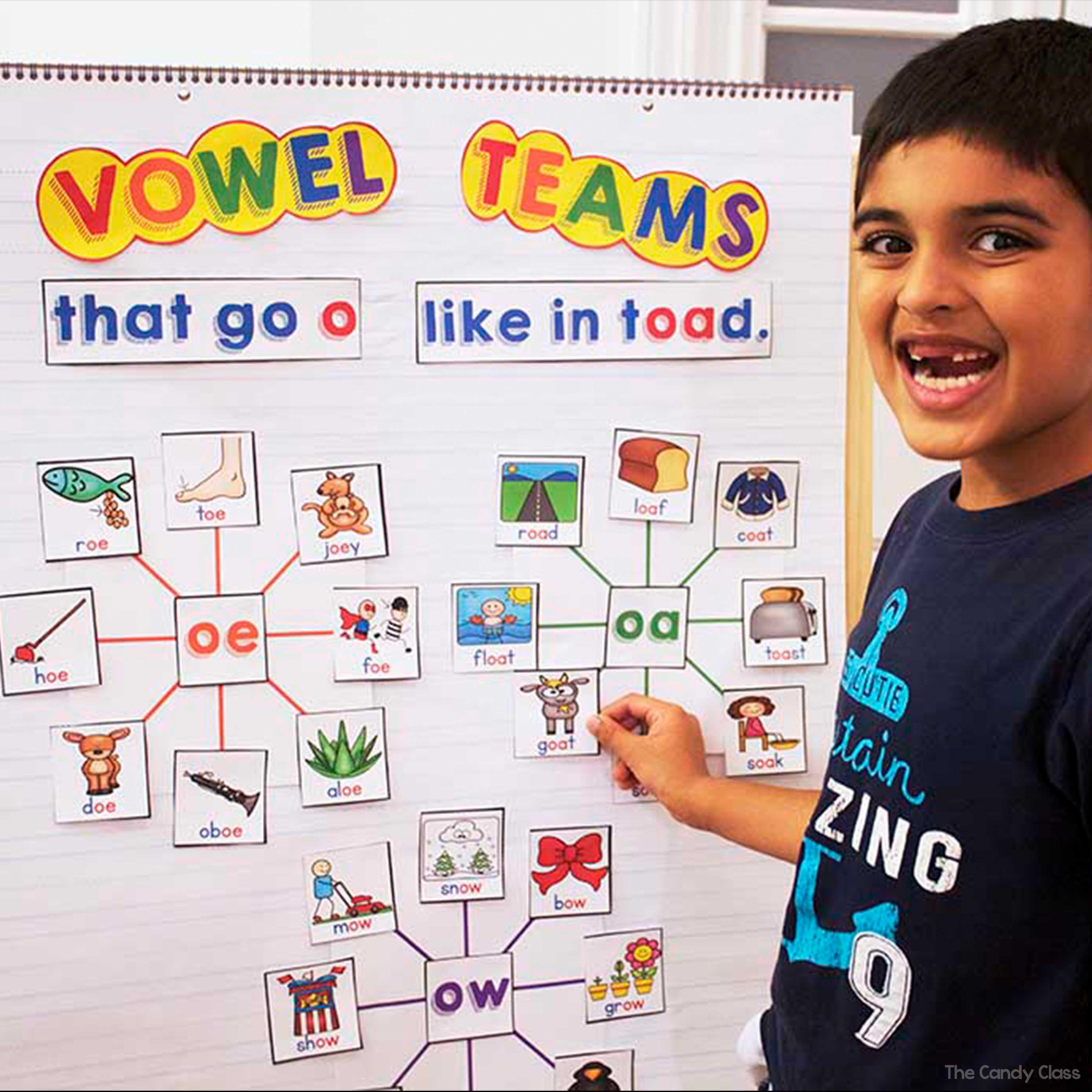 Primary Worksheet Vowel Teams