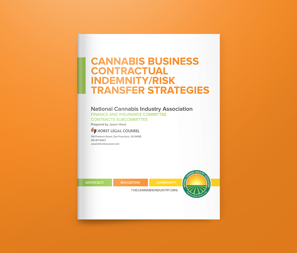 Cannabis Business Contractual Indemnity/Risk Transfer Strategies
