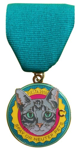 Buy our 2016 fiesta medal cat now