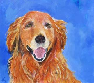 dog-paintings-golden-retriever